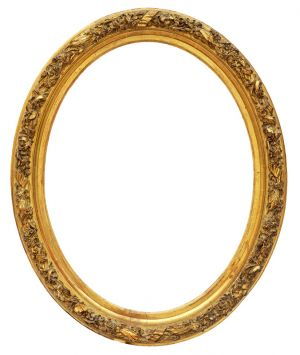 19th century oval frame - REF 626