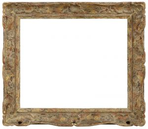 Cadre style Louis XV - 53,2 x 62 - REF-266